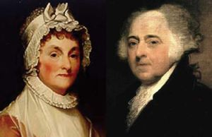 John and Abigail Adams